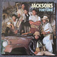 Jackson & Michael Jackson, torture, SP - 45 tours