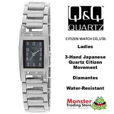 AUSSIE SELLER LADIES BRACELET WATCH CITIZEN MADE SILVER GH79-205 RP$99 WARRANTY