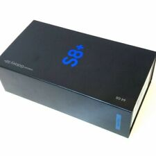 New Boxed Samsung Galaxy S8+ Plus G955F Midnight Black 64GB Unlocked Smartphone