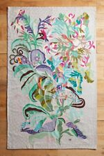 Anthropologie Paradise Found Crewel Rug by Shelley Hesse- 5 x 8