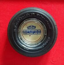VINTAGE B. F. GOODRICH SILVERTOWN RUBBER TIRE ADVERTISING ASHTRAY