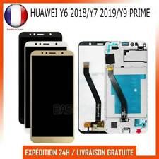 ECRAN LCD COMPLET +FRAME POUR HUAWEI Y6 2018/Y7 2019/Y9 PRIME VITRE TACTILE
