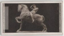 "Rhodesia Equestrian Statue ""Physical Energy"" By Watts 1920s Trade Ad Card"
