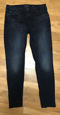 "womens LUCKY BRAND dark denim lolita skinny jeans sz 12 / 31 regular inseam 30"""