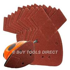 10 Mouse Sanding Sheets to Fit For Black and Decker Detail Palm Sander 60 Grit