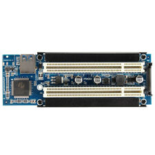 PCI-E Express X1 to Dual PCI Riser Extend Adapter Card with 2.6FT USB 3.0 C F4M2