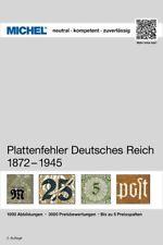 Michel Handbuch-Katalog Plattenfehler Deutsches Reich 1875-1945