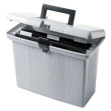 Pendaflex Plastic Portable Hanging File Folder Storage Box Tote - Letter Size