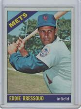Eddie Bressoud New York Mets 1966 Topps Baseball Card #516 Ex-Mint