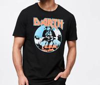 Mens size XXXL  Black DARTH Vader  print  t-shirt tee  Star Wars 3XL  NEW