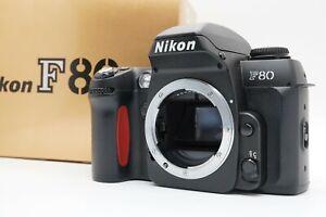 [Mint W/Scatola] Nikon F80D 35mm SLR Film Fotocamera Corpo Da Giappone