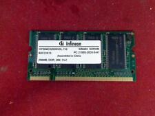 256mb DDR Infineon PC 2100s RAM sodimm memoria dell 8500 pp02x