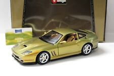 1:18 Bburago Ferrari 550 Maranello disparaitra Sun STANDOX New chez Premium-modelcars