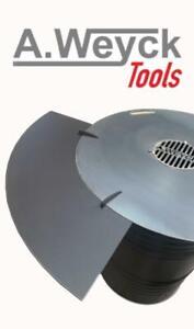 Anstecktisch 1/4 aus Metall für 100cm 8mm Feuerplatte #268