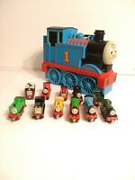 Thomas The Train and Friends Diecast Metal Magnetic LOT & Take Along Carry Case