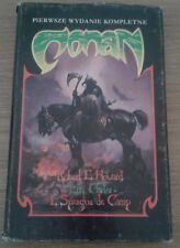 CONAN Robert E Howard Carter Sprague de Camp | 1st Polish Edition 1991 Hardback
