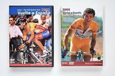 Lot of 2 Vuelta a Espana 2003 & 2004 3 disks set Roberto Heras's wins Dvd