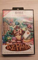 🕹 Taz-Mania (SEGA Master System) SMS Game COMPLETE PAL