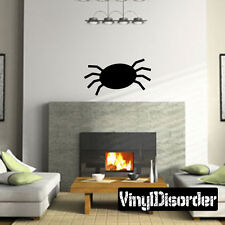 Spider Halloween Holiday Vinyl Wall Decal Mural Quotes Words -cp024