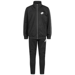 Lotto Derrel Kinder Fußball Sport Fitness Anzug Trainingsanzug T3645 schwarz neu