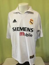 Men's White Soccer Jersey Size Large