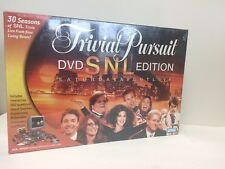 Trivial Pursuit Adult Game DVD SNL Edition Saturday Night Live  - New   U1