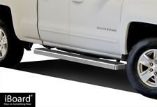 "iBoard Running Boards 4"" Fit 07-17 Chevy/GMC Silverado/Sierra Ext.Cab/Double Cab"