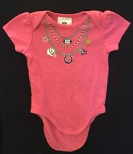 NFL Indianapolis Colts Pink Infant Romper, Size 3/6 Mo.