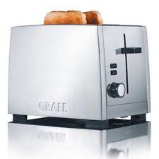 Graef TO80 Toaster Aluminium silber / Edelstahl matt