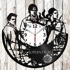 Supernatural Vinyl Wall Clock Made of Vinyl Record Original gift 2588