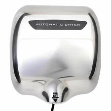 NEW HEAVY DUTY HAND DRYER FAST ELECTRIC HOT WARM AIR DRIER 1800W COMMERCIAL