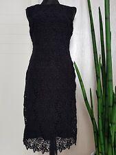 elegantes Abendkleid, Silvester Kleid schwarz, Etuikleid in gr. 36, taliert