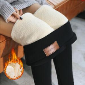 Leggings Donna Termici Leggins Termico Pantaloni Invernali  S M L XL 2XL 3XL