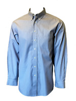 Roundtree & Yorke Gold Label Mens Fitted Striped Button-Down No-Iron Dress Shirt