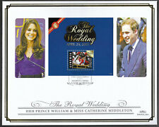 Liberia 2011 Large FDC Wedding of William & Catherine Ltd Ed 32/250