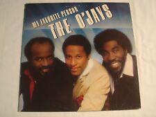 "The O'Jays ""My Favorite Person"" Philadelphia International 12"" LP VG++"