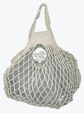 100% Cotton String Shopping Bag Natural Color Made in France Grocery Bag