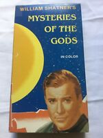 Mysteries Of The Gods VHS William Shatner 1989 Aliens UFO Conspiracy Star Trek