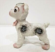 Vintage Porcelain French Bulldog Dog Figurine / Antique