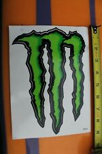 Monster Energy Drink Red Bull Green Neon M Punk Rock V25 Vintage Surfing Sticker