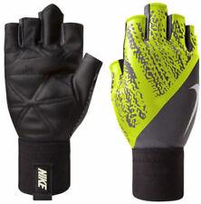 Nike Mens Dynamic Gloves Training Dri-Fit Size Medium Grey Volt R552-15