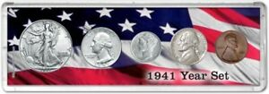 Year Coin Gift Set, 1941