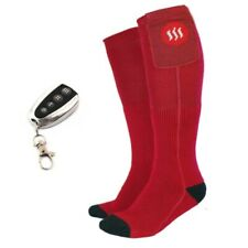 Heated ski socks with remote control Glovii, sizes 3-7, 7.5-11.5, batteries, GQ3