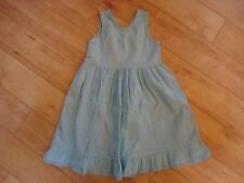 Girl Fresh Produce Blue Gingham Dress 4 5 EUC