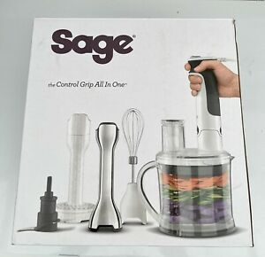 Sage BSB530UK the Control Grip All-in-One Stick Blender White/ Ex-Display
