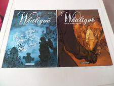 lot 2 bd Whaligoë tomes 1 et 2 Yann / Virginie Augutin éd. Casterman