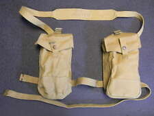 BRITISH WWII BREN-GUNNER FIELD PACK WITH STRAP. WWII DATED NEW OLD STOCK