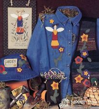 Imaginating ~ Angel In The Garden ~ Diane Arthurs ~ Leaflet/2 Xs/Applique Charts
