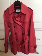 Coach New York Womens Executive Trench Coat Rain Coat Business Coat - Size XS