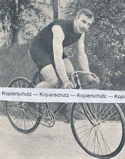 Thorwald Ellegaard  Radrennfahrer - Bahnrennsport  - Radsport - um 1905   L 20-9